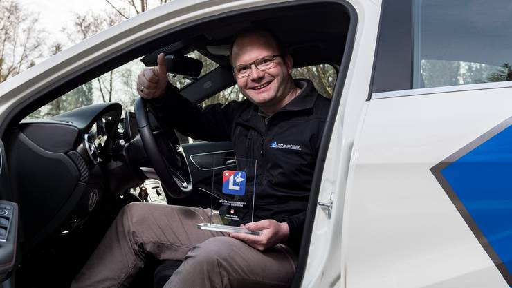 Fahrlehrer Patrick Straubhaar