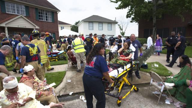 30 Verletzte, aber keine Todesopfer: Hauseinsturz in Texas