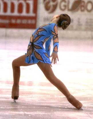 Cindy-Lilli Zimmerli  das  Eislauftalent aus Othmarsingen