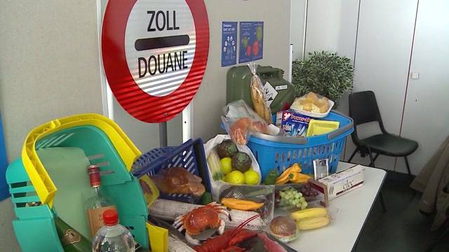 Shopping-Schmuggel in Rheinfelden im Januar verdoppelt