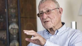 Paul Wyss (90) verfolgt die Entwicklung im Messewesen noch heute mit grossem Interesse.