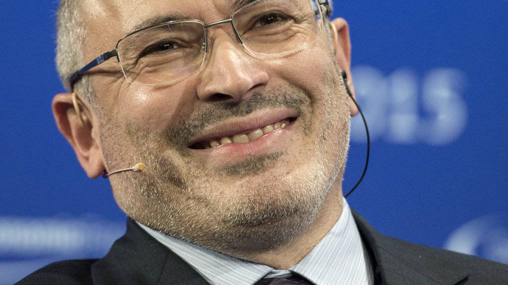 Michail Chodorkowski hat seinen Namen schützen lassen. (Archivbild)