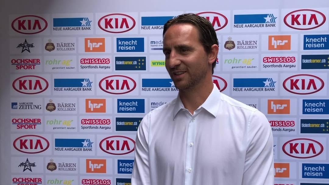 Interview mit Sandro Burki, Sportchef FC Aarau