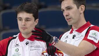 Die Genfer Peter De Cruz (rechts) und Benoît Schwarz müssen sich im eigenen Land einer harten Konkurrenz erwehren
