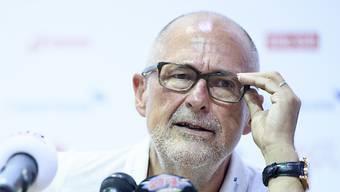 SFV-Präsident Peter Gilliéron entschuldigt sich.