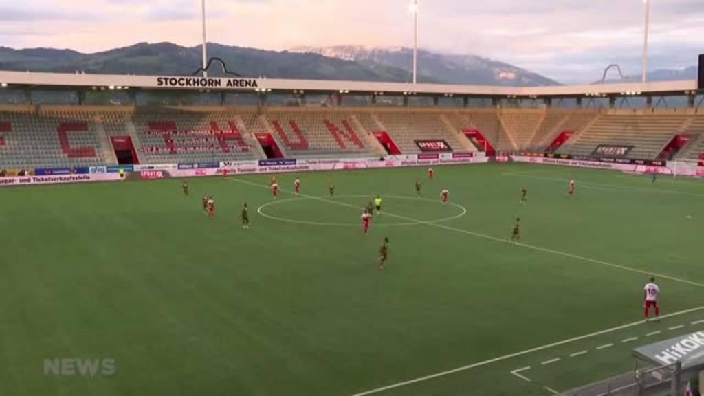 Jetzt braucht es ein kleines Wunder: FC Thun verliert Barrage-Hinspiel