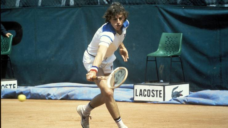 Heinz Günthart als Spieler: Er hat wesentlichen Anteil an den Erfolgen von Federer und Hingis.