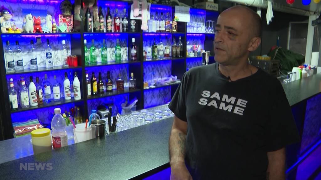 Bikergang verprügelt Barbesitzer in Langenthal