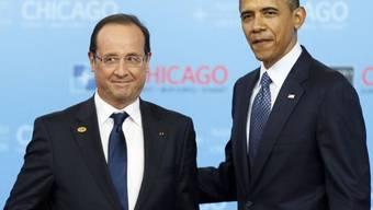 François Hollande und Barack Obama (Archiv)