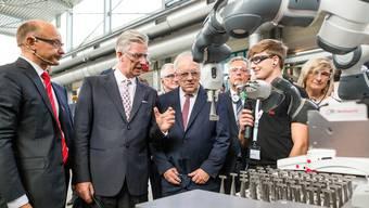 Belgiens König Philippe besucht Baden (für die anderen Portale)