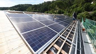 Aarau lässt sich Photovoltaikanlage von Privaten finanzieren (Symbolbild)