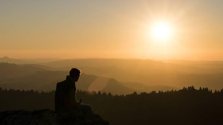 Auf dem rund 1600 Meter hohen Chasseral im Kanton Bern wurden am heutigen Dezembermorgen fast 9 Grad gemessen. (Symbolbild)