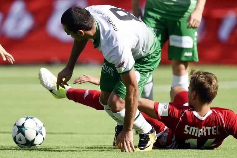 Der FC St.Gallen traf in der ersten Runde des Schweizer Cup auf Baden.