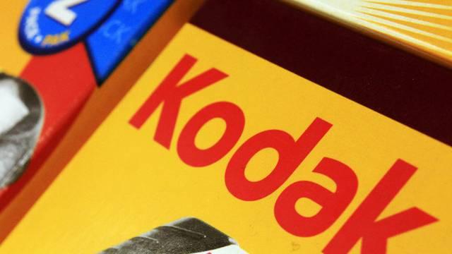 Der frühere Fotofilm und Fotopapier-Hersteller Kodak ist stark in der Krise