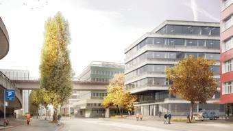 Bauprojekt Stadtpolizei