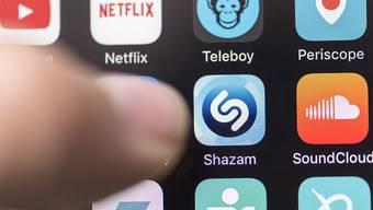 Gehört neu zu Apple: Die App Shazam. (Symbolbild)