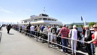 Die Zürichsee-Schifffahrtsgesellschaft (ZSG) verzeichnet einen Passagier-Rückgang von 25 Prozent. (Symbolbild)