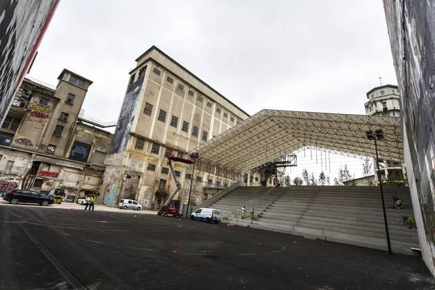 Die Attisholz Arena bietet 800 Personen Platz und soll ein künftiger Schauplatz für alle möglichen Arten von Kulturveranstaltungen sein.