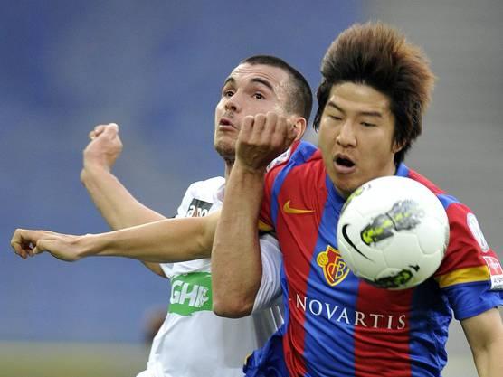 Joo Ho Park brauchte einige Spiele Anlauf bis er sich richtig entfalten konnte.