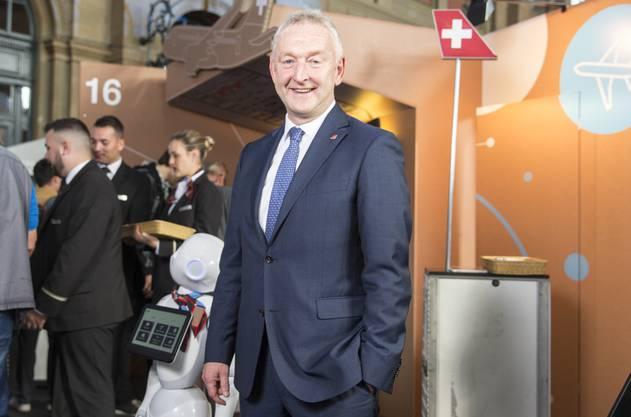 Klühr trat kürzlich am Digitaltag am Hauptbahnhof Zürich auf.