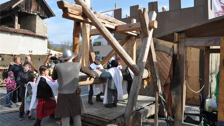 Die Krieger des Cevi werden zum letzten Mal ihren Rammbock zeigen ZVG