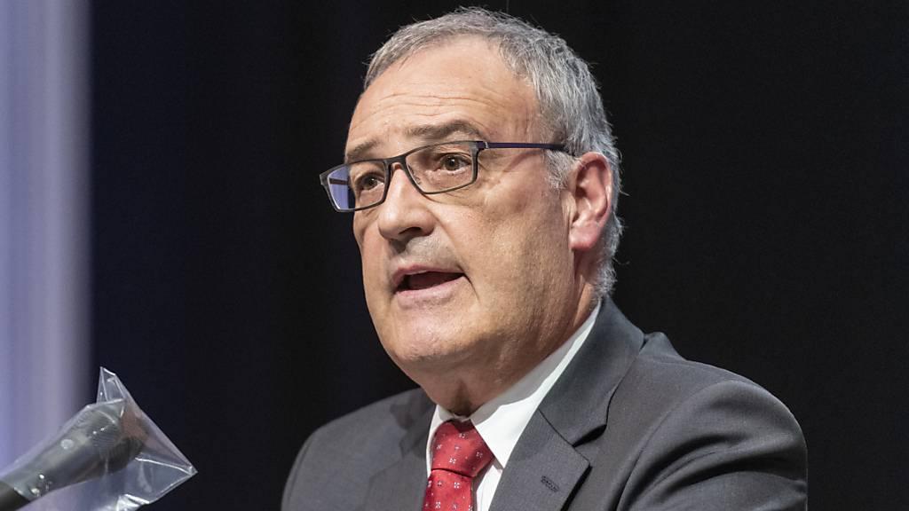 Bundespräsident Parmelin plädiert für nachhaltiges Wachstum
