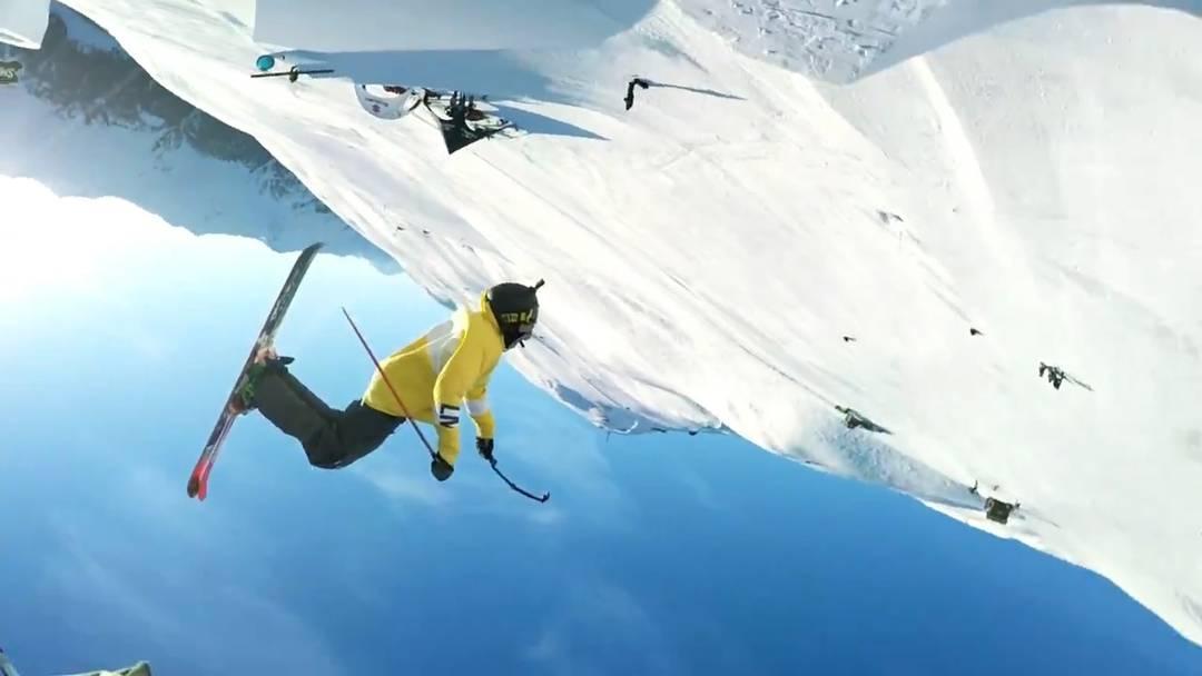 Doppelter Doppelsalto: Diesen Schweizer Freestylern zuzusehen macht so richtig Lust auf Skipiste