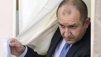 Überraschung in Bulgarien: Der russlandfreundliche Rumen Radew hat grosse Chancen, nächster Präsident zu werden.