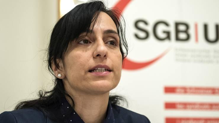 Vania Alleva, Unia-Präsidentin: «Die existierenden GAV schützen kaum vor überlangen Arbeitstagen.»