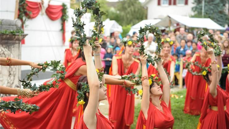 Tausende besuchten letztes Wochenende den Römertag in Augusta Raurica. (Archivbild)