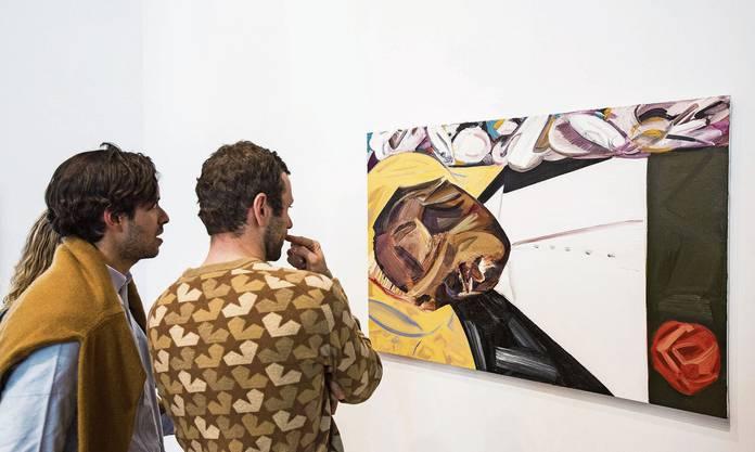Anstössig? Das Ölgemälde «Open Casket» («Offener Sarg») von Dana Schutz erinnert an einen schwarzen Jugendlichen, der Opfer eines grausamen Lynchmordes wurde.