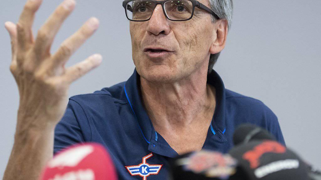 Hans-Ulrich Lehmann gibt Präsidentschaft ab