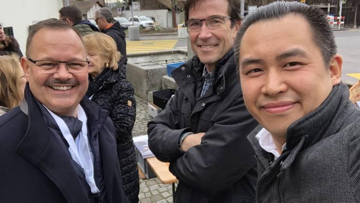 FDP Wahlkanmpf in Weiningen