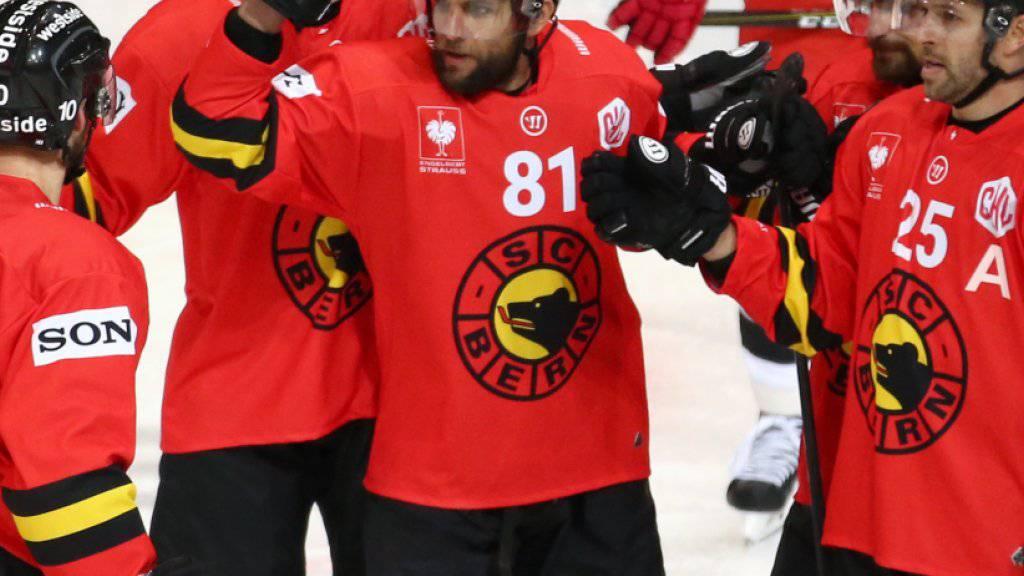 Der SC Bern will in dieser Saison in der Champions Hockey League erstmals die Halbfinal-Hürde meistern