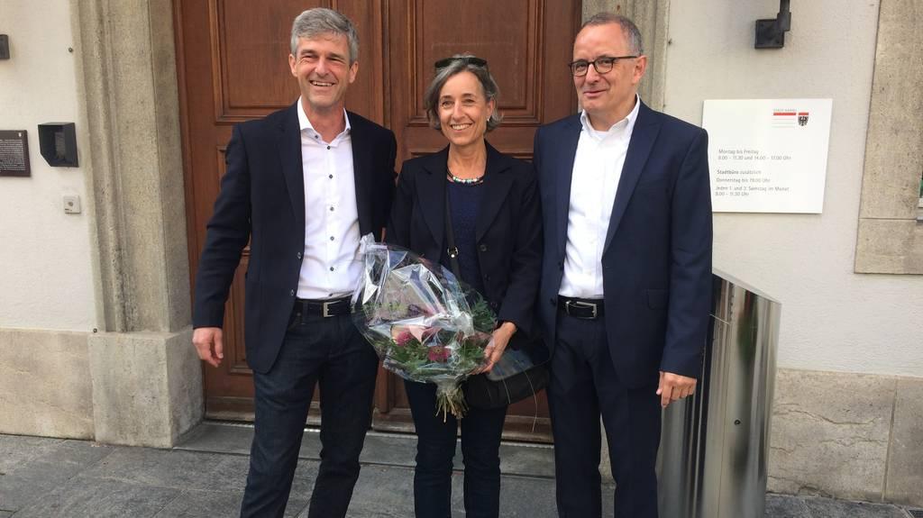 Die drei Kandidaten fürs Stadtpräsidium