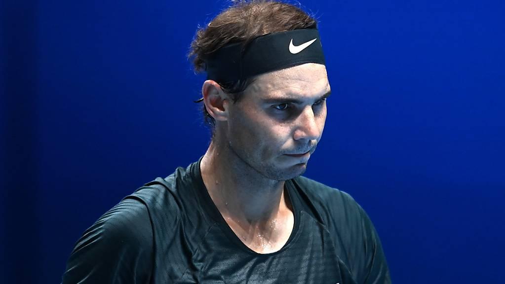 Rafael Nadal kassierte im zweiten Match in London eine Niederlage