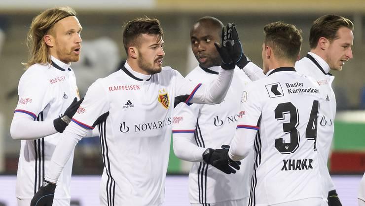 Basel gewinnt gegen Lausanne mit 4:1.