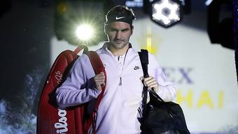 Roger Federer schreitet an den Swiss Indoors wieder vor heimischem Publikum zu Werke