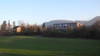 In der «Blaie» beim Oberstufenzentrum (hinten) ist ein Wohnquartier geplant.