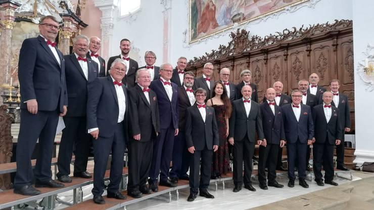"""Unter der Leitung von Jasmine Asatryan ersang der Kappeler A-capella-Chor die Bestnote """"vorzüglich"""""""