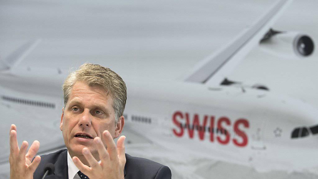 Swiss-Chef Harry Hohmeister fordert die Politik auf, sich klar zur europäischen Luftfahrtindustrie zu bekennen (Archivbild).
