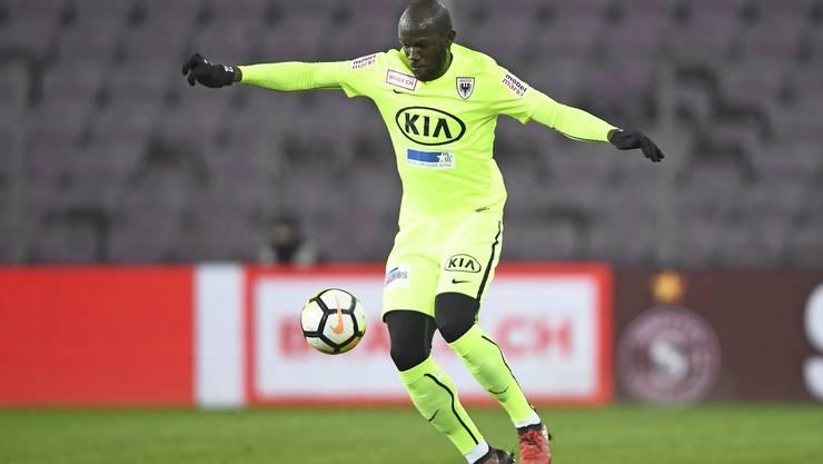 Erlitt im zweiten Training unter Ex-Coach Marinko Jurendic einen Aussenbandriss im Knie. Der Kongolose kehrt erst im September beim Auswärtsspiel in Chiasso (0:1) ins Team zurück.