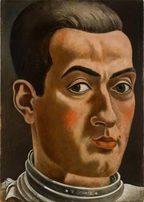 Selbstporträt von 1928. MASI