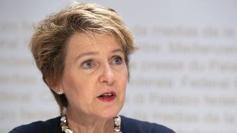 Justizministerin Simonetta Sommaruga.