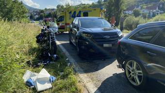 Unfall in Herznach am 28. Juni 2020