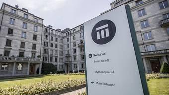 Swiss Re musste im vergangenen Geschäftsjahr zwar immer noch viel für Katastrophenschäden zahlen, aber nicht mehr ganz so viel wie im Vorjahr.