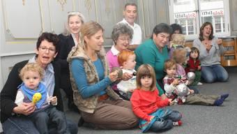 Schon die Kleinsten lernen unter Begleitung ihrer Eltern oder Verwandten den Zauber der Musik kennen.