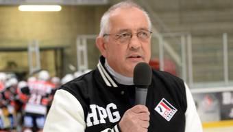 Hans Peter Gerber, Präsident EHC Basel/KLH.