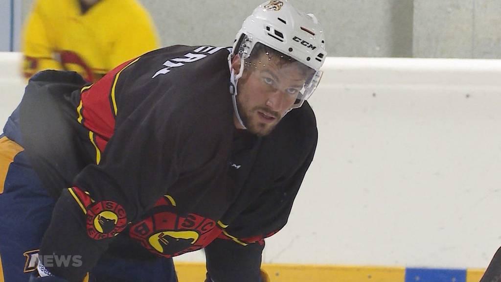 NHL-Cracks Josi und Weber trainieren in Bern
