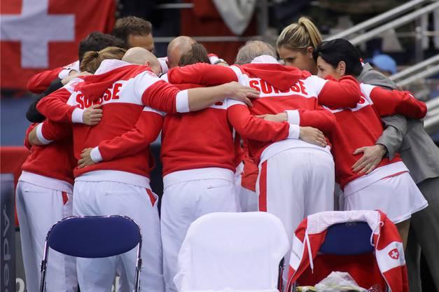 Rebeka Masarova hat der Schweiz – und damit dem Fed-Cup-Team – den Rücken gekehrt. An ihrer Stelle erhielt nun Jill Teichmann ein Fed-Cup-Aufgebot.Keystone